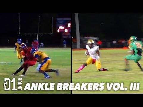 http://CollegeLevelAthletes.com - Best HS Football Moves #D1Bound Ankle Breakers Vol III: HS Football Highlights (2015). Watch Sam Bruce, Najee Harris, Tyler Vaughns, Brandon Burton +...