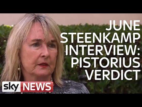 June Steenkamp Responds To Pistorius Murder Verdict