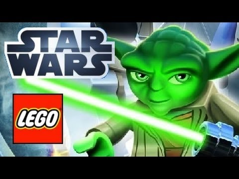 Stjärnornas krig - SVENSKA - Lego Star Wars - The complete saga (only game kids movies)