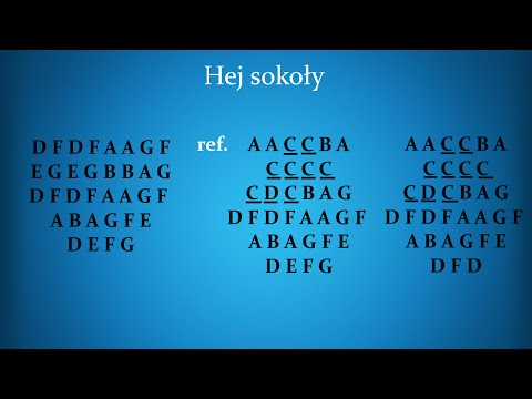 Nauka Gry Na Flecie Prostym | Hej Sokoły (Ukraina)