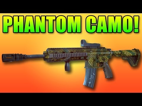 Battlefield 4 Phantom Trainee Camo - How To Unlock