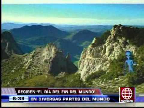 América Noticias -21.12.12- Así Se Recibió 'el Día Del Fin Del Mundo' En Diversos Países