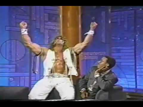 The Ultimate Warrior Meets Arsenio Hall Video