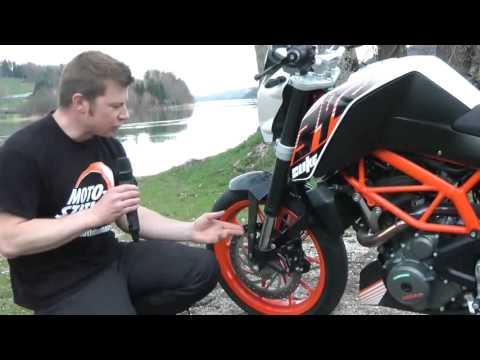 Essai et présentation KTM Duke 390.