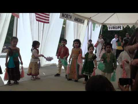 Ishani's performance at Anaheim Hills Montessori