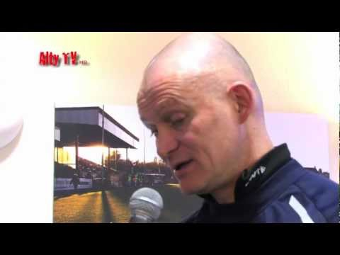 Lee Sinnott;  Altrincham Vs Vauxhall Motors Post Match Interview