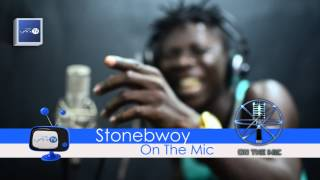 Stonebwoy Freestyles on Lynx TV