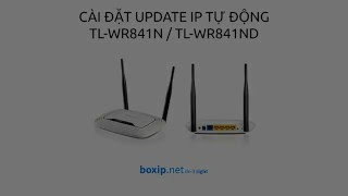 How to config free ddns for tp-link tl-wr841n
