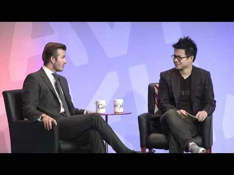 Google+David Beckham Interview Recap