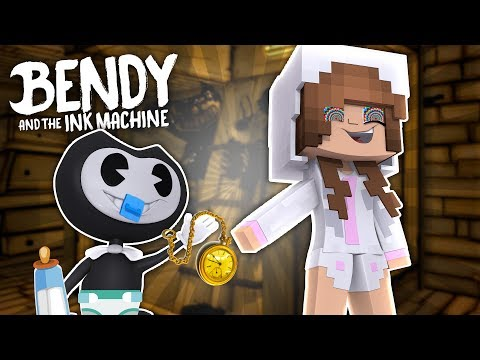 BABY BENDY HYPNOTISES BABY ELLIE! Minecraft Little Kelly w/Sharky (CustomRoleplay)