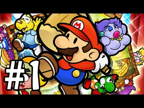 Paper Mario : La Porte Mill&Atilde;&copy;naire Let's Play - Episode 1 [Live]