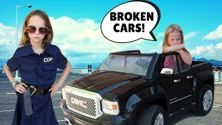 Crazy BROKEN Car Store !!! Silly Worker with Addy and Maya !!!