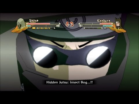 (XBOX 360) Shino vs Kankuro Naruto Ultimate Ninja Storm 3