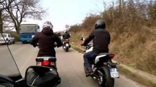 Andrea Dovizioso in sella al nuovo Honda SH300i