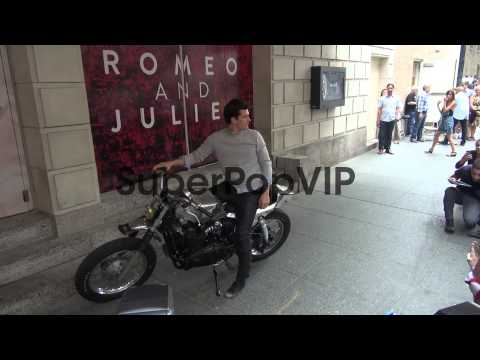Orlando Bloom outside the Richard Rodgers Theatre Orlando...