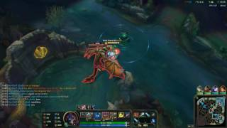League of Legends Ft Warwick On Jungle (Game 411 Patch 6.18)