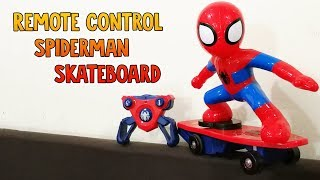Remote Control Marvel Spiderman Skateboard  RC Anti Rolling from RCMOMENT