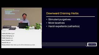 Intro to Chinese Herbal Medicine: Downward Draining and Digestive by Dr. John Chen