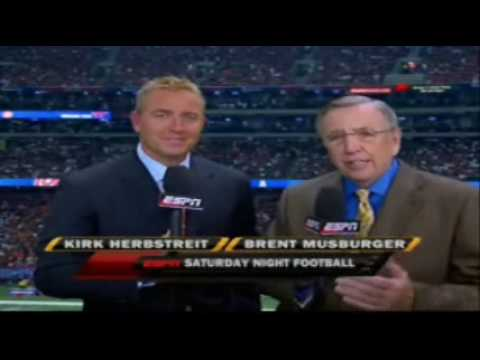 Saturday Night Football 2009 Intro Montage (Part 1) Video