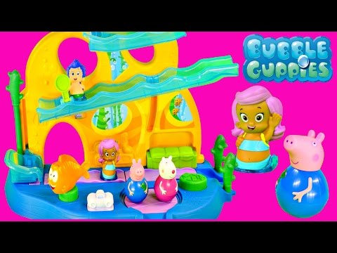 Peppa Pig Bubble Guppies Swim-Sational School 20 Phrase & Songs Peppa Weebles Toys for Kids