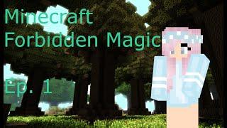No Magic?!?! | Minecraft Forbidden Magic | Ep. 1