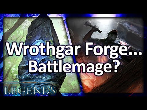(TES: Legends) Wrothgar Forge... Battlemage?