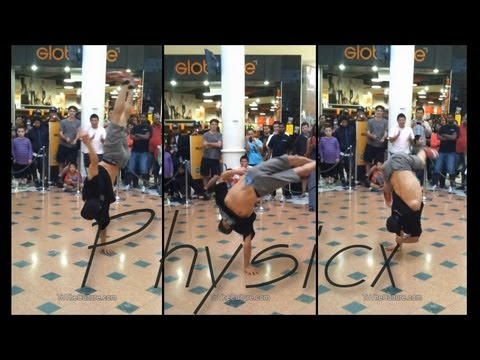 Legendary BBoy Physicx KILLS It at an Event