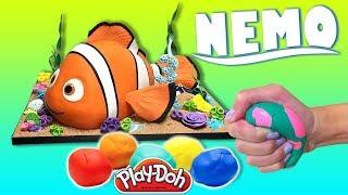 Đồ chơi trẻ em - Hướng dẫn bé làm Chú cá NEMO  trong phim hoạt hình Truy tìm Nemo Bằng Đất sét