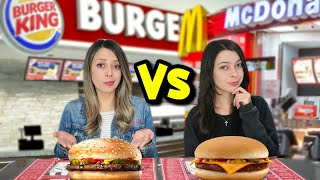 COMPREI O ITEM MAIS BARATO do Fast Food | Mc Donalds Vs Burger King