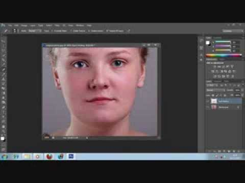 Photoshop Tutorial Removing Acne, Skin Blemishes With The Spot Healing Brush In Photoshop