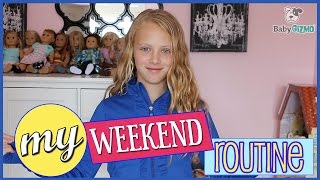 MY WEEKEND ROUTINE | SPRING 2017