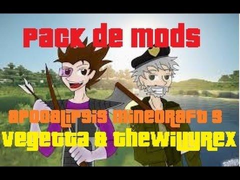 Cómo Descargar e Instalar Pack de Mods #Apocalipsis Minecraft 3 Vegetta777 TheWillyrex