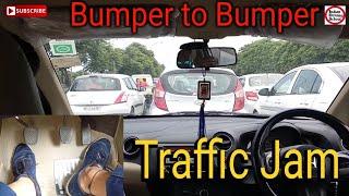Bumper to Bumper Traffic | ट्रैफिक में गाड़ी  कैसे चलाये ? | Indian Driving School