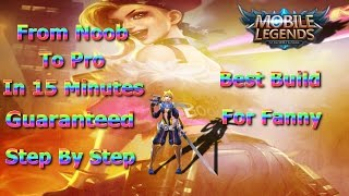 Mobile Legends Best Build For Fanny | Unbeatable Guide Step By Step