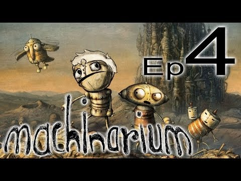 Machinarium ep 4 – THE CAT DIED!