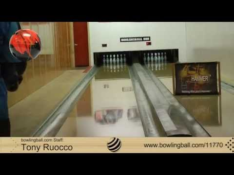 bowlingball.com Hammer Bad Ass Bowling Ball Reaction Video Review