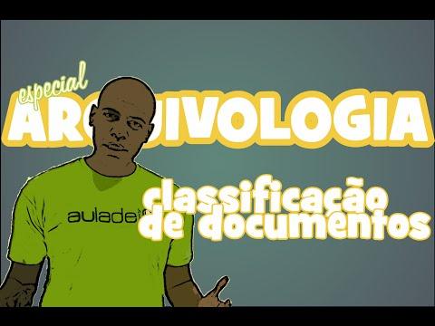 Arquivologia: Classificação de Documentos