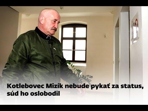 Kotlebovec Mizík nebude pykať za status, súd ho oslobodil - YouTube