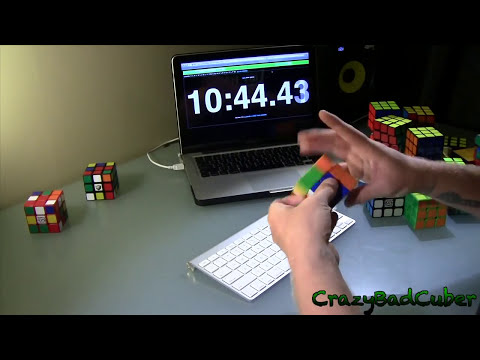 29 Cube Relay - Feliks Zemdegs