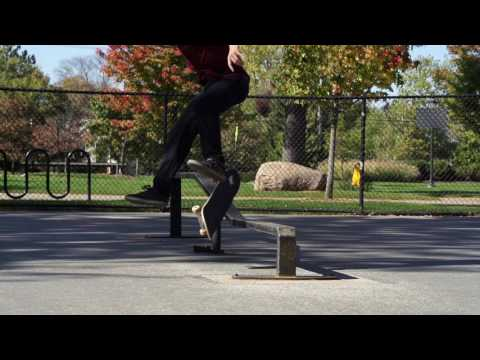 Laser flip backside lipslide - Joe Vizzaccero