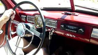 1957 Volvo PV444 Interior