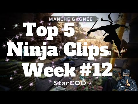 Top 5 Best Ninja Clips *Week #12* on Call of Duty!