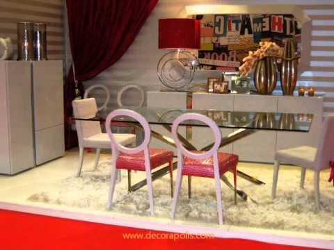 Elegantes muebles contempor neos feria del mueble for Muebles elegantes