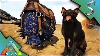 MAX LEVEL HYAENODON TAME & BLUE DOEDICURUS TAMING! - Ark: Survival Evolved [S4E15]