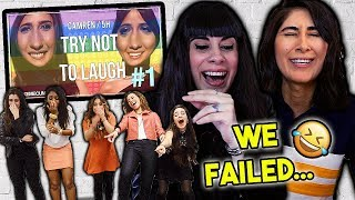 CAMREN & FIFTH HARMONY TRY NOT TO LAUGH CHALLENGE!