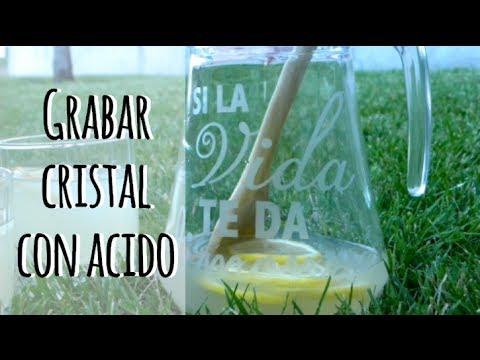 C mo grabar cristal con cido personaliza tu vasos o - Como poner vinilo en cristal ...