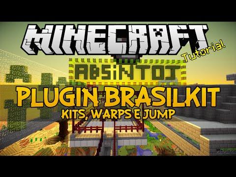 Plugin BrasilKit - Kits, warps e jump Minecraft (Venda)