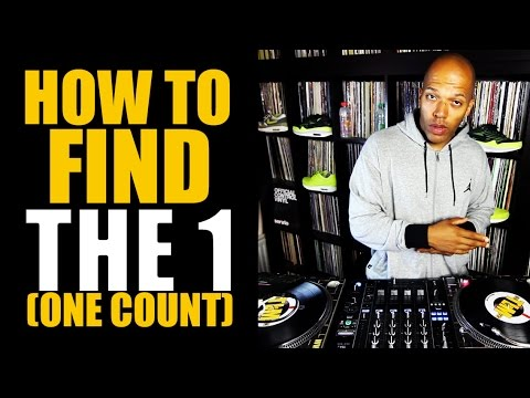 How to find the 1 (one count) | Counting music
