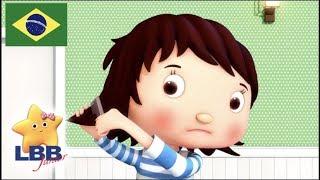 Desenho para Bebe | Cortando o cabelo | Canções para Crianças | Little Baby Bum Júnior