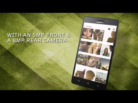 Lenovo A7000 Smartphone Tour